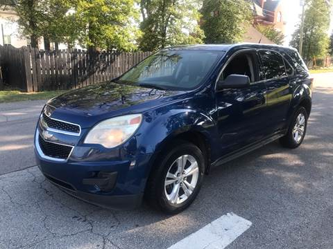 2010 Chevrolet Equinox for sale at Eddies Auto Sales in Jeffersonville IN