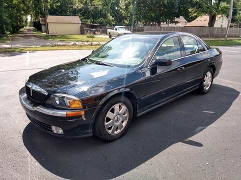 2002 Lincoln LS for sale at Eddies Auto Sales in Jeffersonville IN