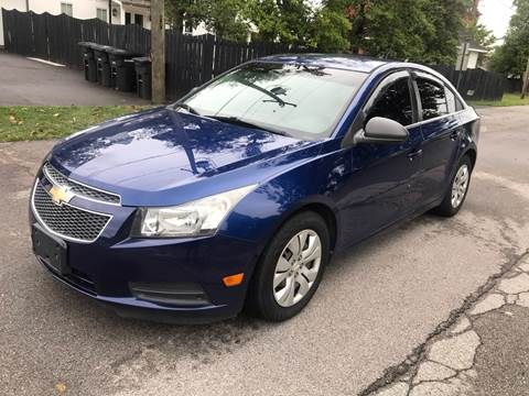 2012 Chevrolet Cruze for sale at Eddies Auto Sales in Jeffersonville IN