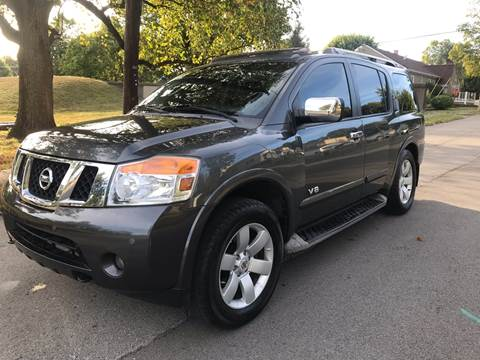 2008 Nissan Armada for sale at Eddies Auto Sales in Jeffersonville IN
