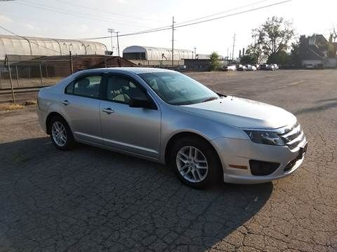 2012 Ford Fusion for sale at Eddies Auto Sales in Jeffersonville IN