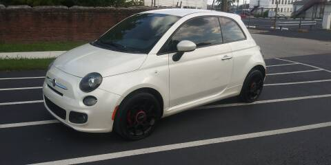 2015 FIAT 500 for sale at Eddies Auto Sales in Jeffersonville IN