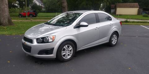 2016 Chevrolet Sonic for sale at Eddies Auto Sales in Jeffersonville IN