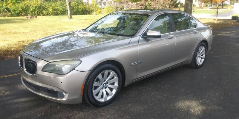 2010 BMW 7 Series for sale at Eddies Auto Sales in Jeffersonville IN