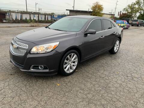 2013 Chevrolet Malibu for sale at Eddies Auto Sales in Jeffersonville IN