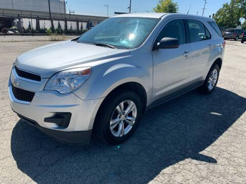 2012 Chevrolet Equinox for sale at Eddies Auto Sales in Jeffersonville IN