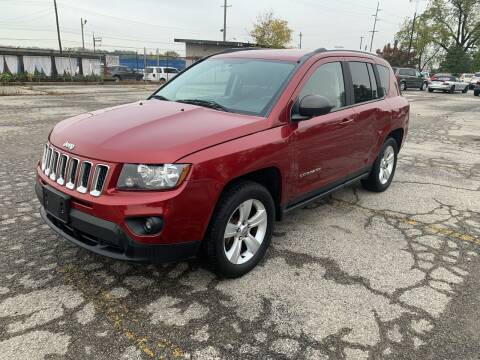 2014 Jeep Compass for sale at Eddies Auto Sales in Jeffersonville IN
