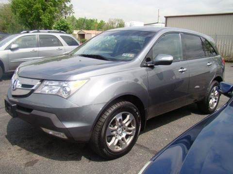 2008 Acura MDX for sale at SILVER ARROW AUTO SALES CORPORATION in Newark NJ