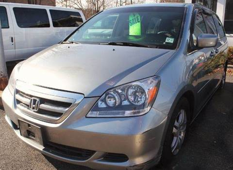 2007 Honda Odyssey for sale at SILVER ARROW AUTO SALES CORPORATION in Newark NJ
