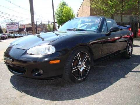2003 Mazda MX-5 Miata for sale at SILVER ARROW AUTO SALES CORPORATION in Newark NJ