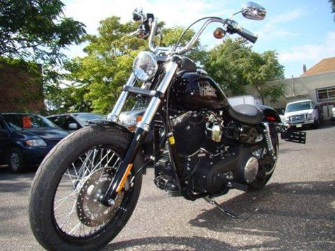 2014 Harley-Davidson Dyna for sale at SILVER ARROW AUTO SALES CORPORATION in Newark NJ