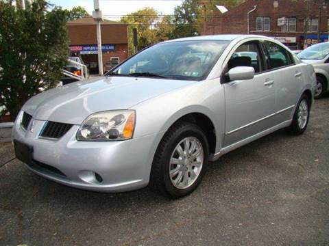 2006 Mitsubishi Galant for sale at SILVER ARROW AUTO SALES CORPORATION in Newark NJ