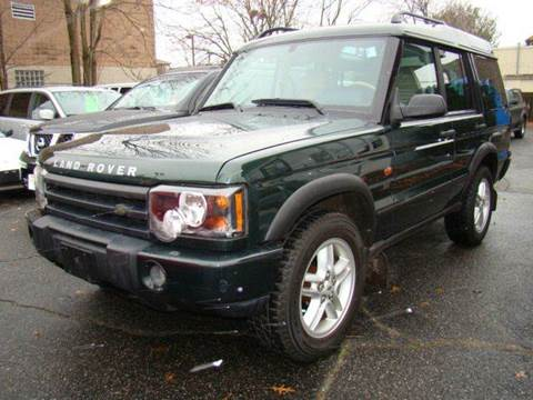 2003 Land Rover Discovery for sale at SILVER ARROW AUTO SALES CORPORATION in Newark NJ