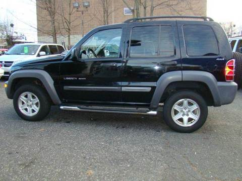 2002 Jeep Liberty for sale at SILVER ARROW AUTO SALES CORPORATION in Newark NJ