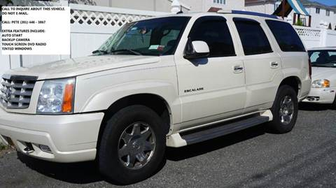 2003 Cadillac Escalade for sale at SILVER ARROW AUTO SALES CORPORATION in Newark NJ