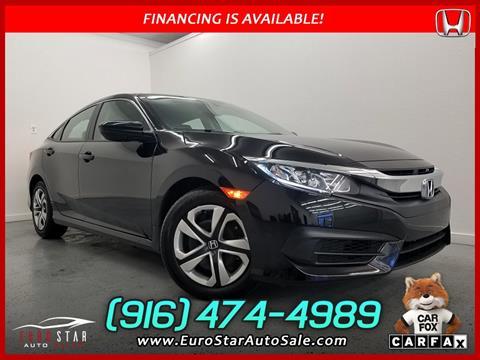 2018 Honda Civic for sale in Rancho Cordova, CA