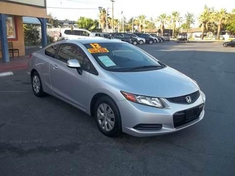 2012 Honda Civic for sale at Atayas Motors INC #1 in Sacramento CA