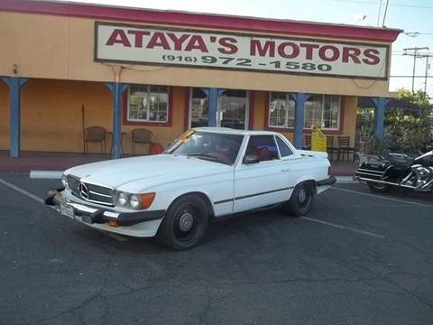 1979 Mercedes-Benz 450 SL for sale at Atayas Motors INC #1 in Sacramento CA