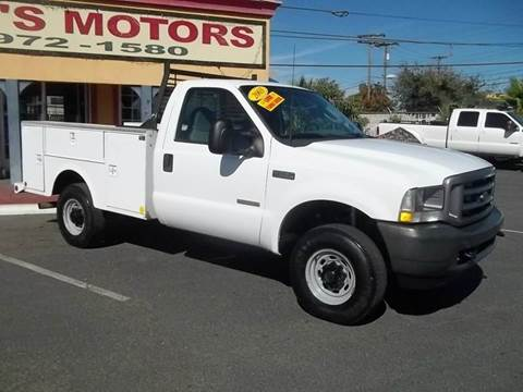 2003 Ford F-250 Super Duty for sale at Atayas Motors INC #1 in Sacramento CA