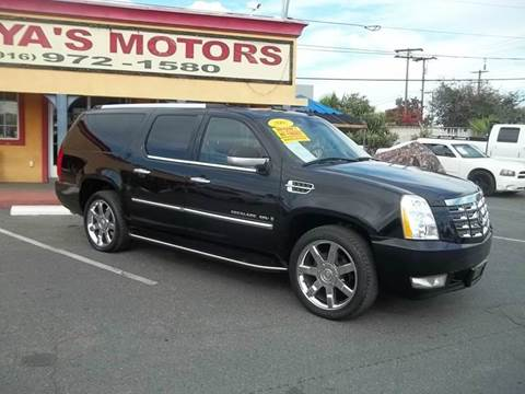 2007 Cadillac Escalade ESV for sale at Atayas Motors INC #1 in Sacramento CA