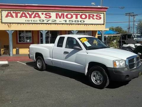 2007 Dodge Dakota for sale at Atayas Motors INC #1 in Sacramento CA