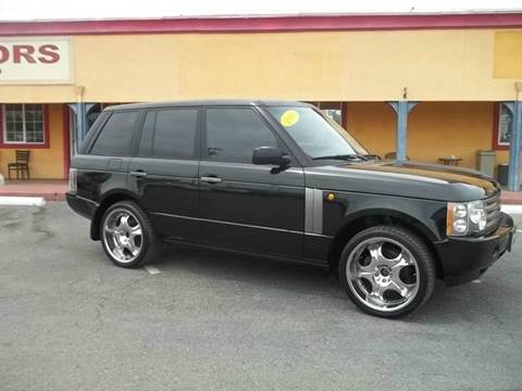 2003 Land Rover Range Rover for sale at Atayas Motors INC #1 in Sacramento CA