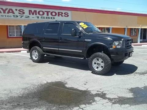 2003 Ford Excursion for sale at Atayas Motors INC #1 in Sacramento CA