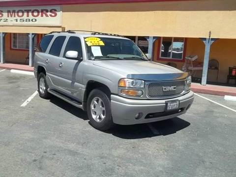 2004 GMC Yukon for sale at Atayas Motors INC #1 in Sacramento CA