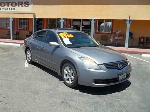 2009 Nissan Altima for sale at Atayas Motors INC #1 in Sacramento CA
