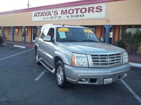 2005 Cadillac Escalade for sale at Atayas Motors INC #1 in Sacramento CA