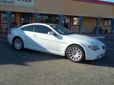 2005 BMW 6 Series for sale at Atayas Motors INC #1 in Sacramento CA