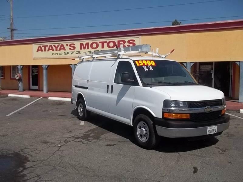 2014 Chevrolet Express Cargo for sale at Atayas Motors INC #1 in Sacramento CA