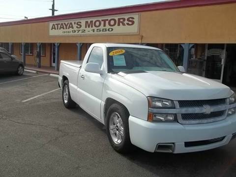 2007 Chevrolet Silverado 1500 Classic for sale at Atayas Motors INC #1 in Sacramento CA