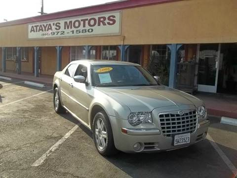 2006 Chrysler 300 for sale at Atayas Motors INC #1 in Sacramento CA