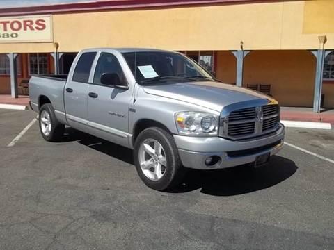 2007 Dodge Ram Pickup 1500 for sale at Atayas Motors INC #1 in Sacramento CA