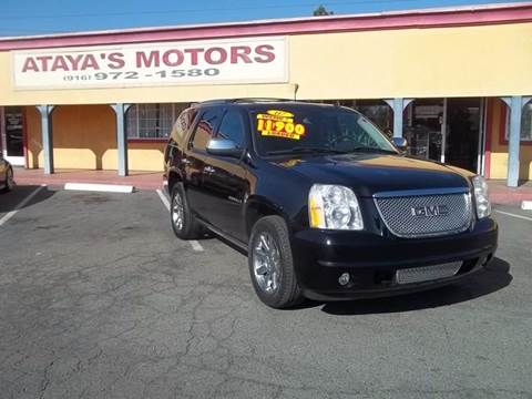 2007 GMC Yukon for sale at Atayas Motors INC #1 in Sacramento CA
