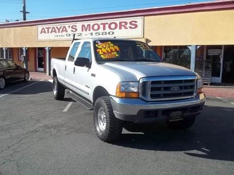 1999 Ford F-350 Super Duty for sale at Atayas Motors INC #1 in Sacramento CA