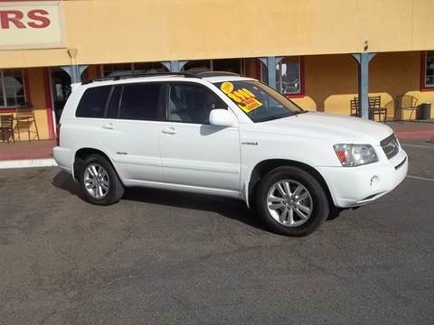 2007 Toyota Highlander Hybrid for sale at Atayas Motors INC #1 in Sacramento CA