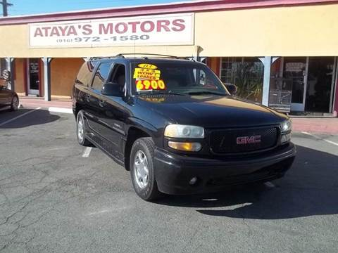 2003 GMC Yukon XL for sale at Atayas Motors INC #1 in Sacramento CA