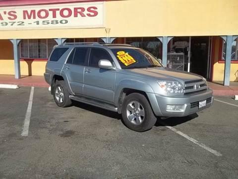 2003 Toyota 4Runner for sale at Atayas Motors INC #1 in Sacramento CA