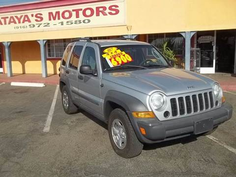 2007 Jeep Liberty for sale at Atayas Motors INC #1 in Sacramento CA