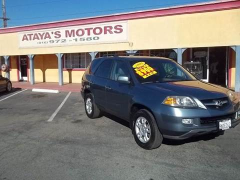 2005 Acura MDX for sale at Atayas Motors INC #1 in Sacramento CA