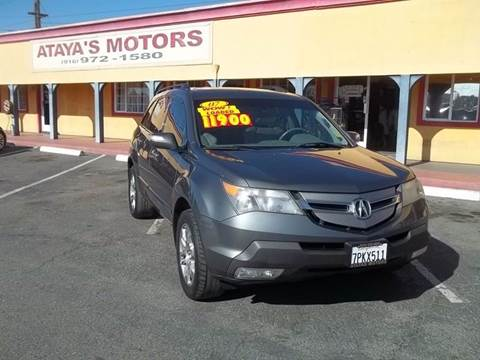 2007 Acura MDX for sale at Atayas Motors INC #1 in Sacramento CA