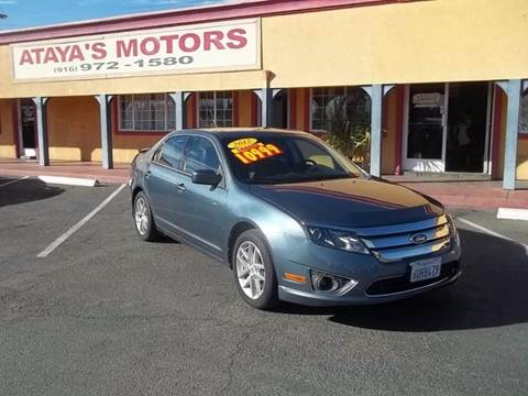 2012 Ford Fusion for sale at Atayas Motors INC #1 in Sacramento CA