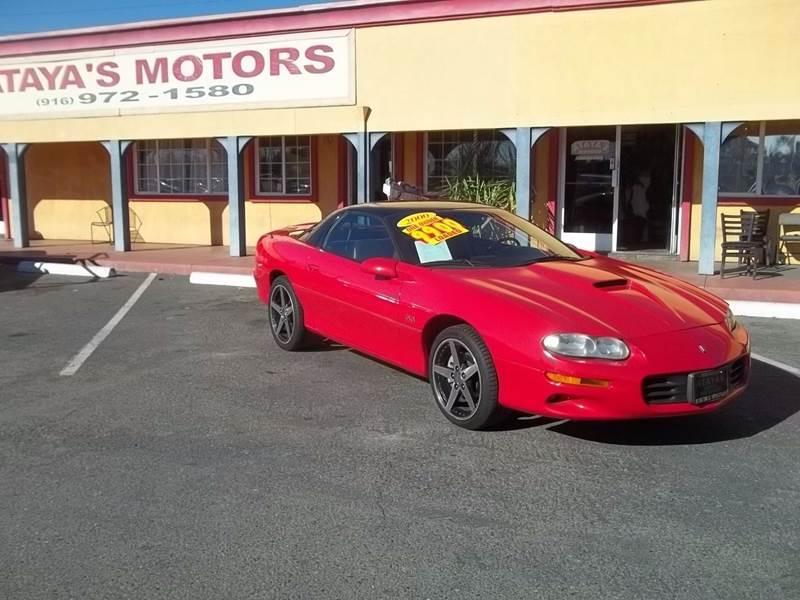 2000 Chevrolet Camaro for sale at Atayas Motors INC #1 in Sacramento CA