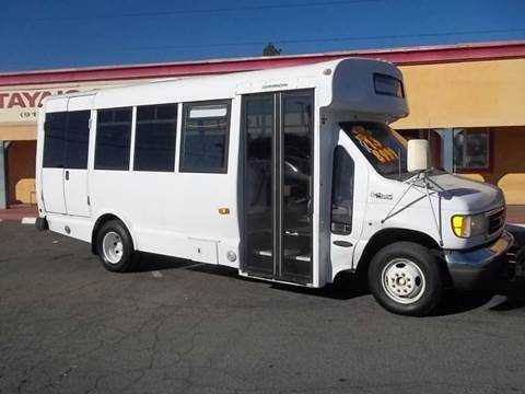 2003 Ford E-450 for sale at Atayas Motors INC #1 in Sacramento CA