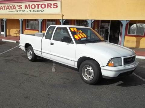 1999 GMC Sonoma for sale at Atayas Motors INC #1 in Sacramento CA
