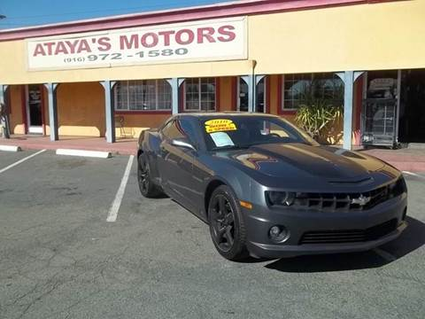 2010 Chevrolet Camaro for sale at Atayas Motors INC #1 in Sacramento CA