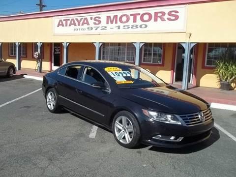 2013 Volkswagen CC for sale at Atayas Motors INC #1 in Sacramento CA