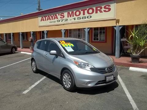 2014 Nissan Versa Note for sale at Atayas Motors INC #1 in Sacramento CA